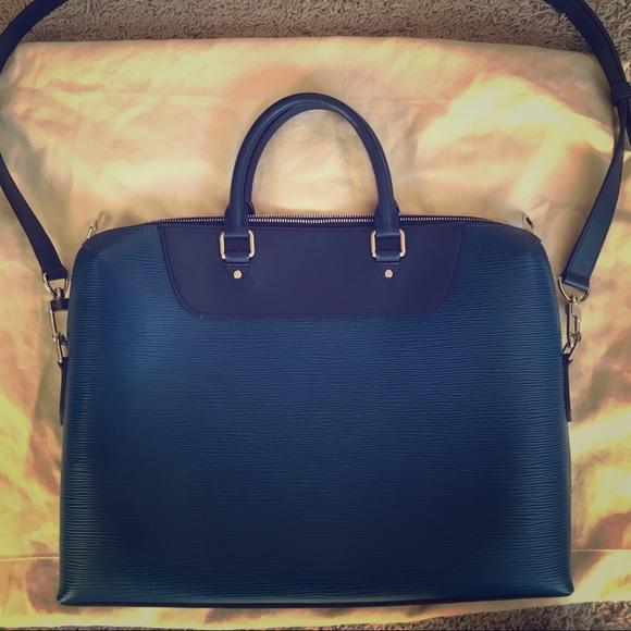 085b567ee Louis Vuitton Bags | Portedocuments Jour Blue Epi | Poshmark